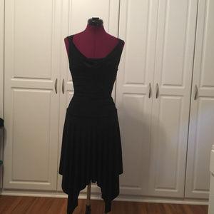 I.N. San Francisco Cocktail Black Dress - Size S
